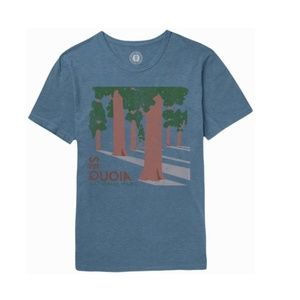 *PARKS PROJECT T-SHIRT* NEW WITH TAGS* SEQUOIA *